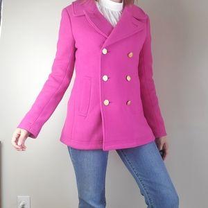 J. Crew Stadium Cloth by Nello Gori pink majesty p